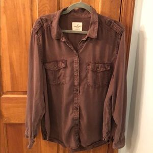 American Eagle Women's Soft Utility Shirt